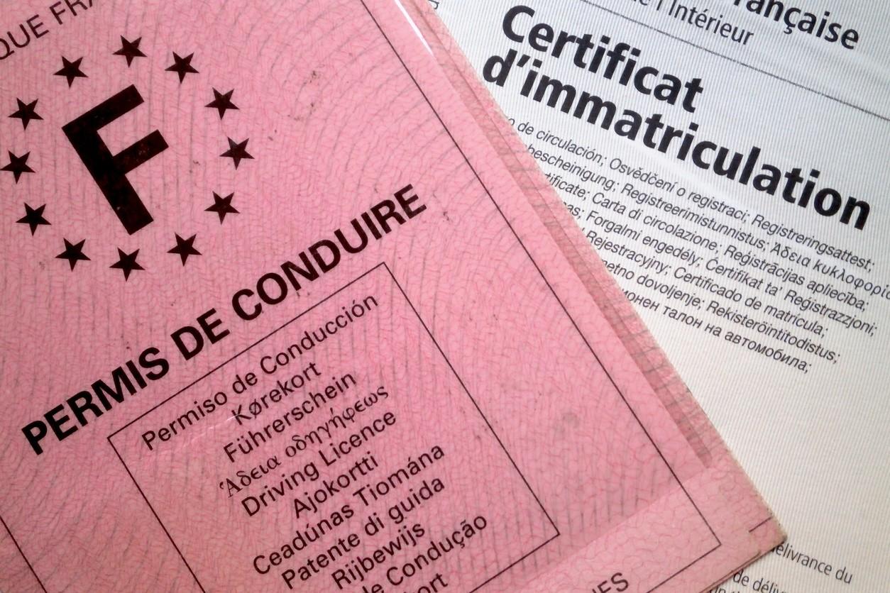 Documents obligatoires véhicule